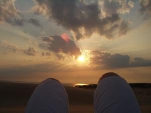 Sunset from Jockey's Ridge